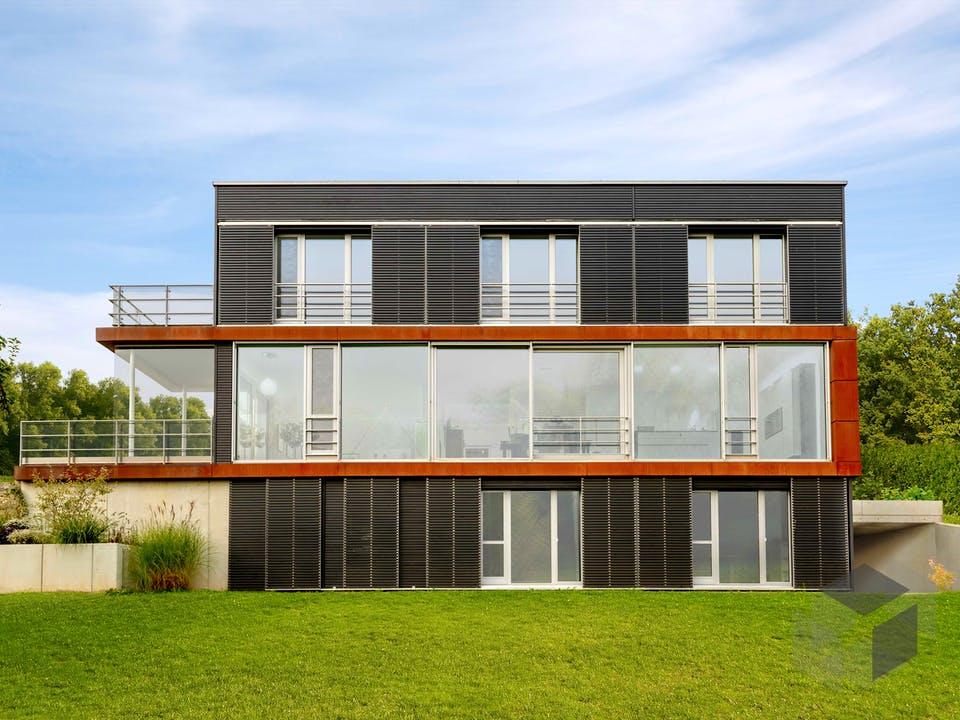 Pawliczec - Kundenhaus von Baufritz Außenansicht