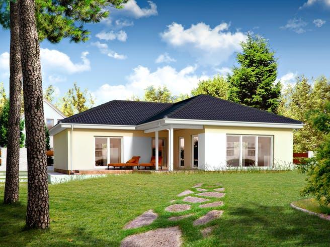 Perfect 124 von DAN-WOOD HOUSE - Österreich Außenansicht 1