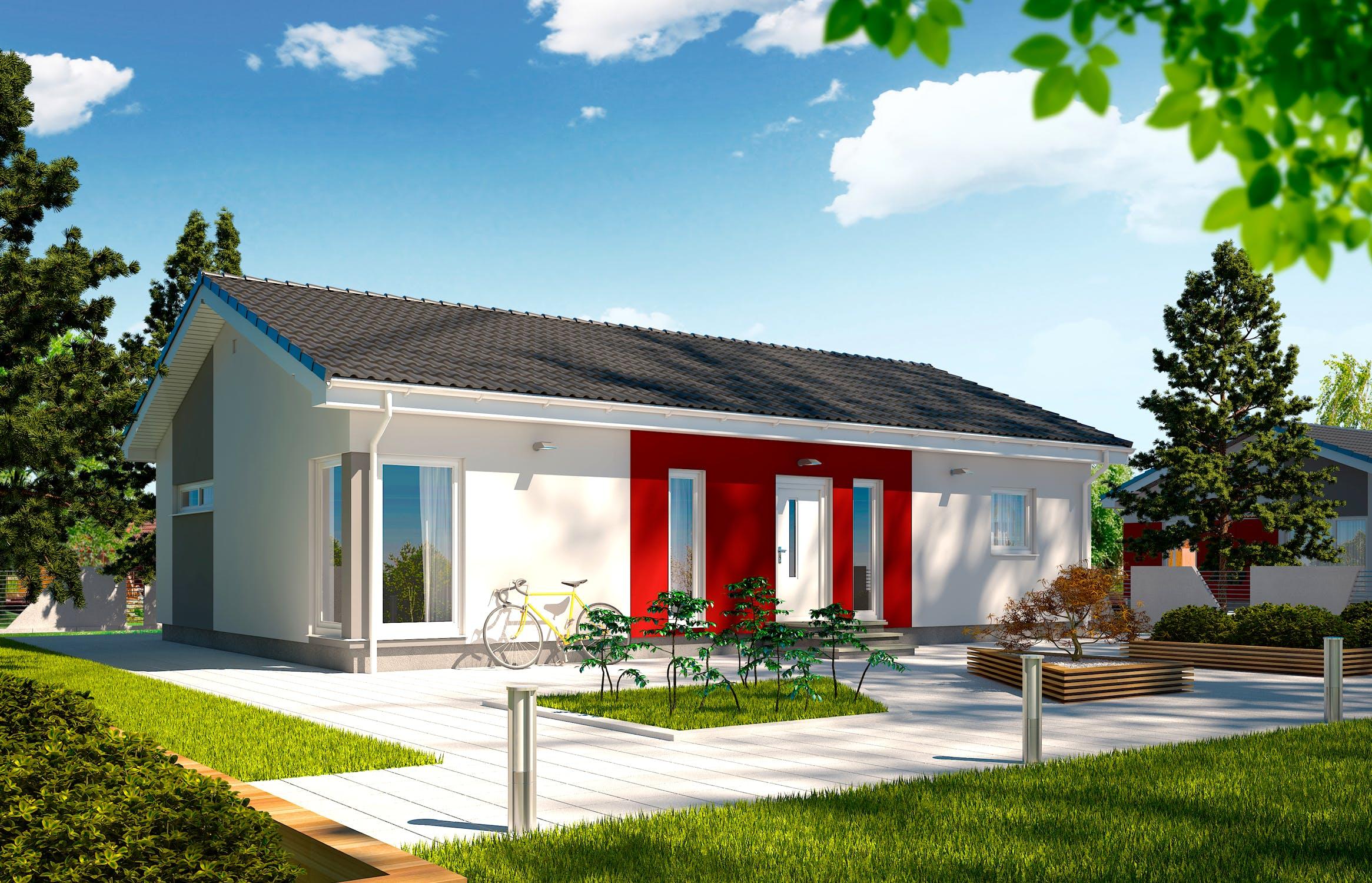 Fertighaus bungalow preise schlüsselfertig  Schlüsselfertiges Fertighaus bis 150.000€ - Häuser | Preise | Anbieter