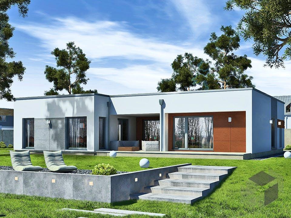 Perfect 149 Cube von DAN-WOOD HOUSE - Österreich Außenansicht