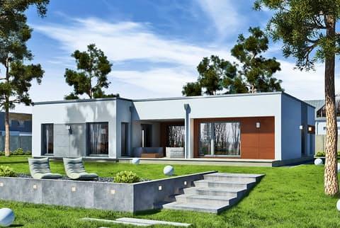 Einfamilienhaus Perfect 149 Cube von DAN-WOOD HOUSE ...