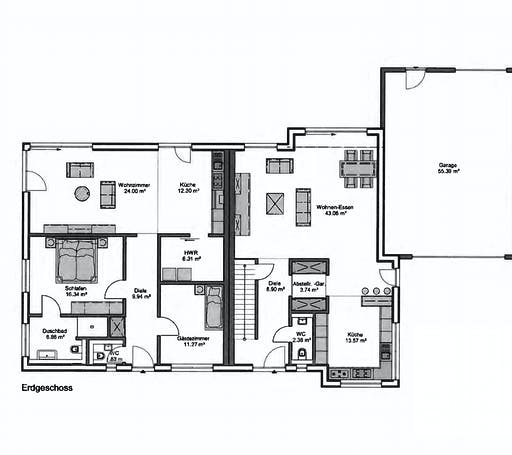 Petershaus - Mehrgeneration Floorplan 1
