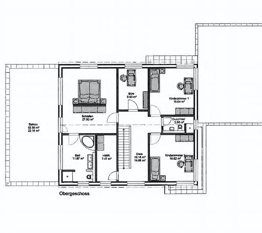 Petershaus - Mehrgeneration Floorplan 2
