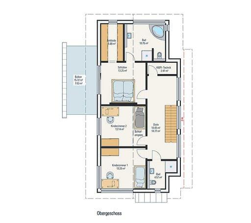 Petershaus - Musterhaus Floorplan 2