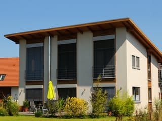 Petra 2 (KfW-Effizienzhaus 40) von Dammann-Haus Außenansicht 1