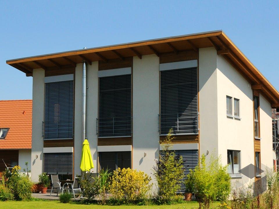 Petra 2 (KfW-Effizienzhaus 40) von Dammann-Haus Außenansicht