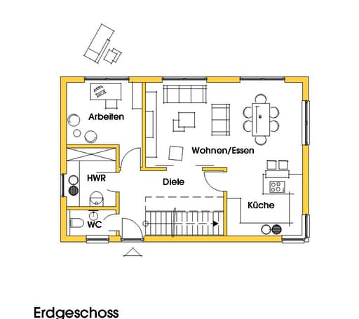 Petra 2 (KfW-Effizienzhaus 55) floor_plans 1