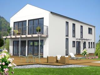 Bad Vilbel von Projekt Hausbau PHB Außenansicht 1