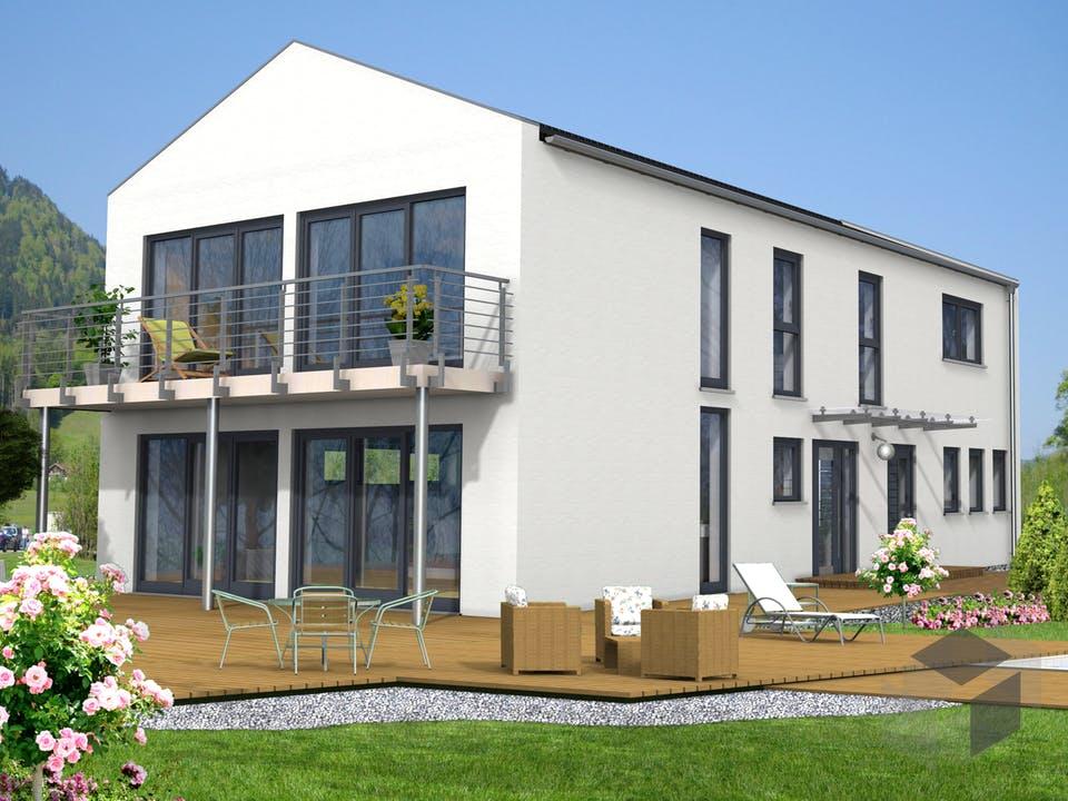 Bad Vilbel von Projekt Hausbau PHB Außenansicht