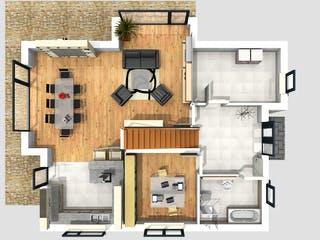 Darmstadt von Projekt Hausbau PHB Grundriss 1