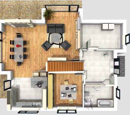 PHB - Darmstadt Floorplan 1