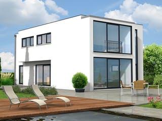 Friedberg von Projekt Hausbau PHB Außenansicht 1