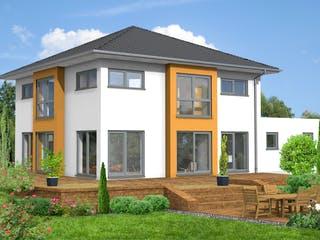 Gelnhausen von Projekt Hausbau PHB Außenansicht 1