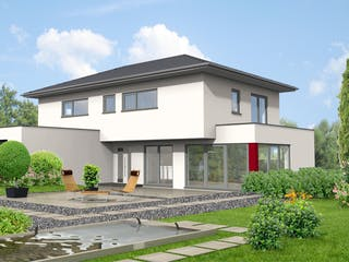 Hanau von Projekt Hausbau PHB Außenansicht 1