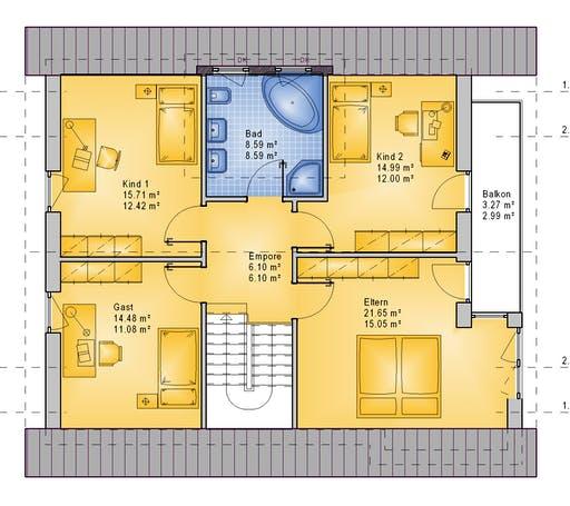 PHB - Taunus Floorplan 2