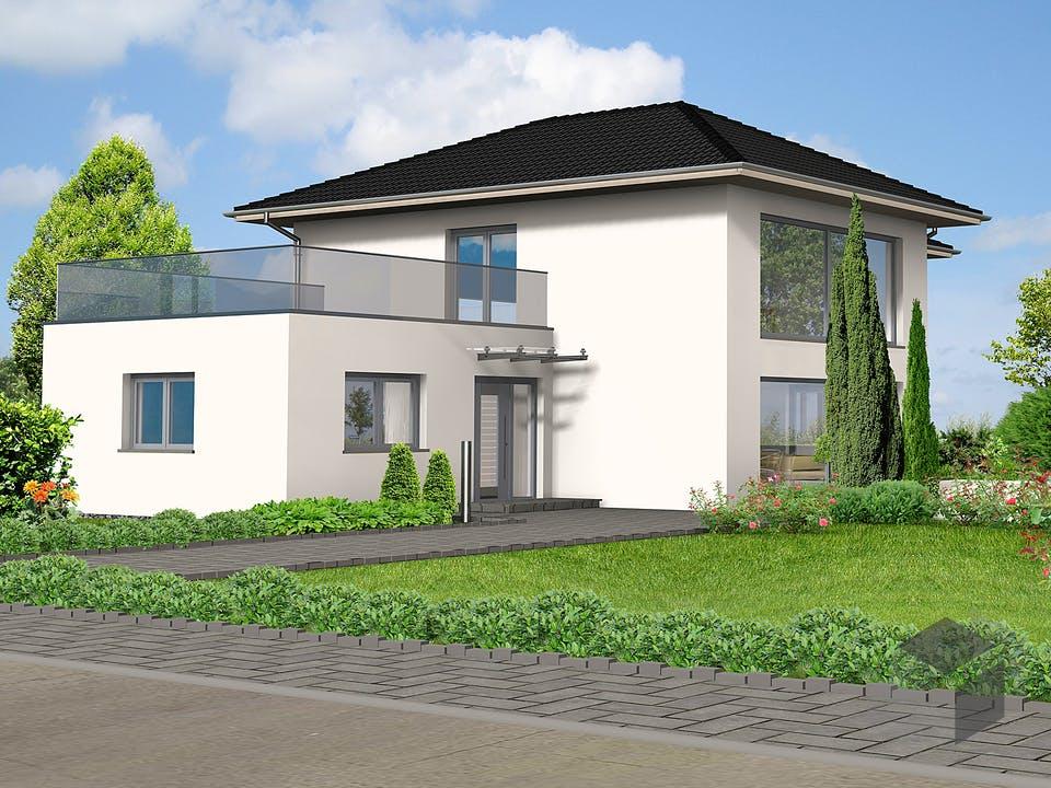 Usingen von Projekt Hausbau Außenansicht