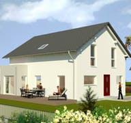 Planungsidee Satteldach Landhaus