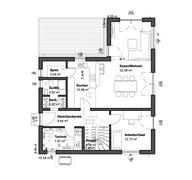 Planungsidee Satteldach Landhaus (inactive) Grundriss