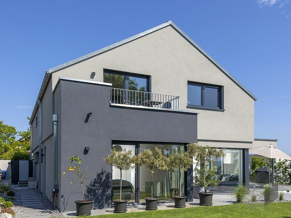 Achenbach von Plan-Concept Massivhaus Außenansicht