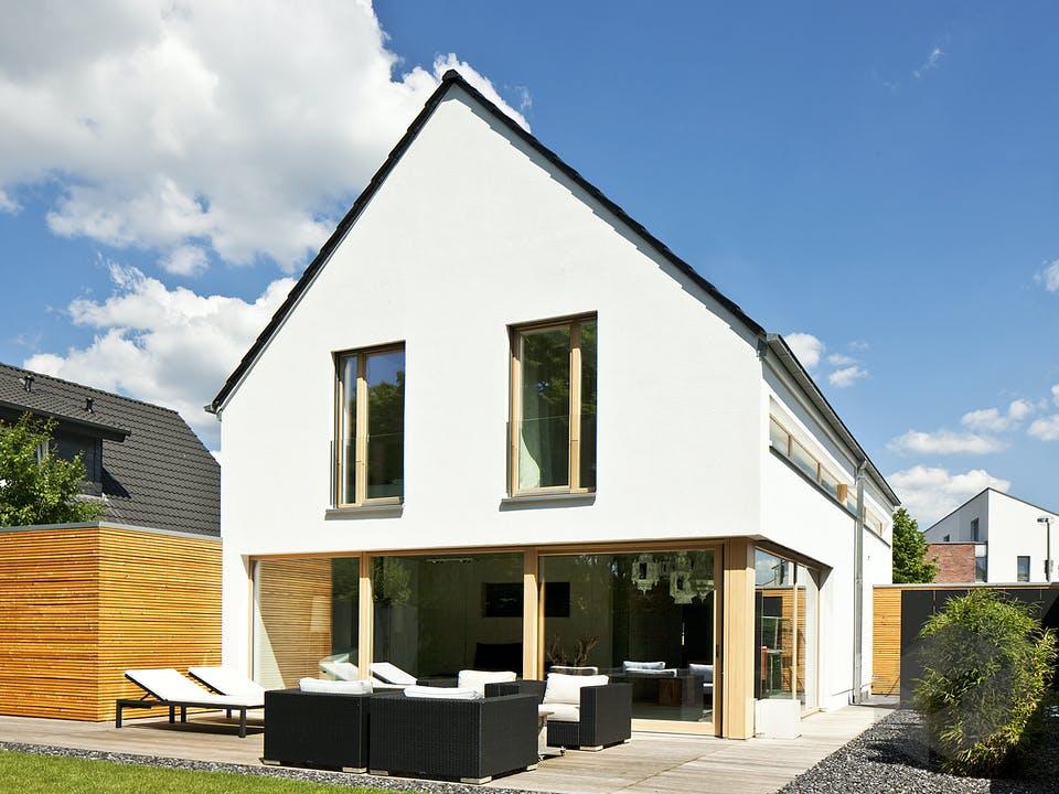 Immel von Plan-Concept Massivhaus Außenansicht