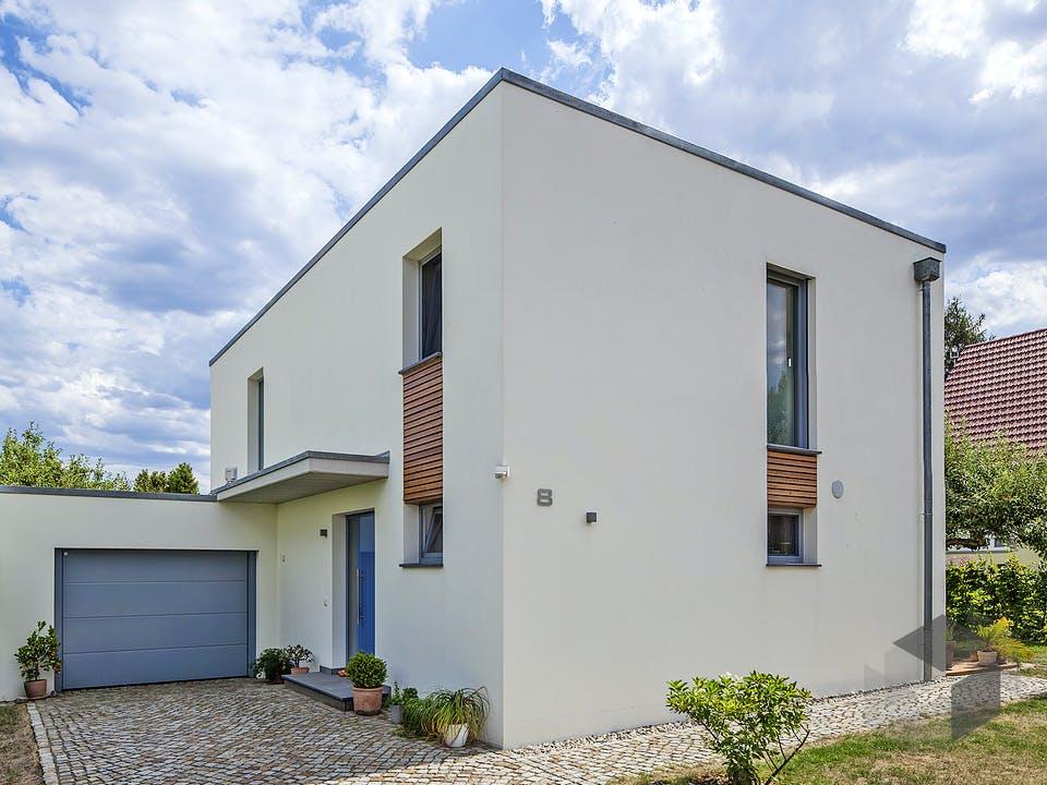 Poschmann von Plan-Concept Massivhaus Außenansicht