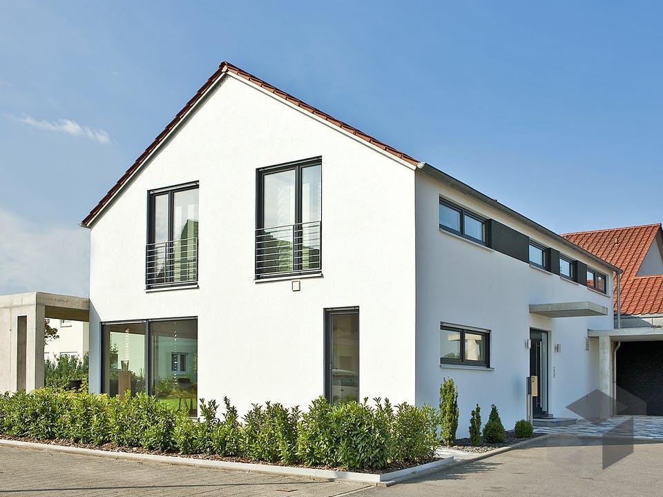 Zöllner von Plan-Concept Massivhaus Außenansicht
