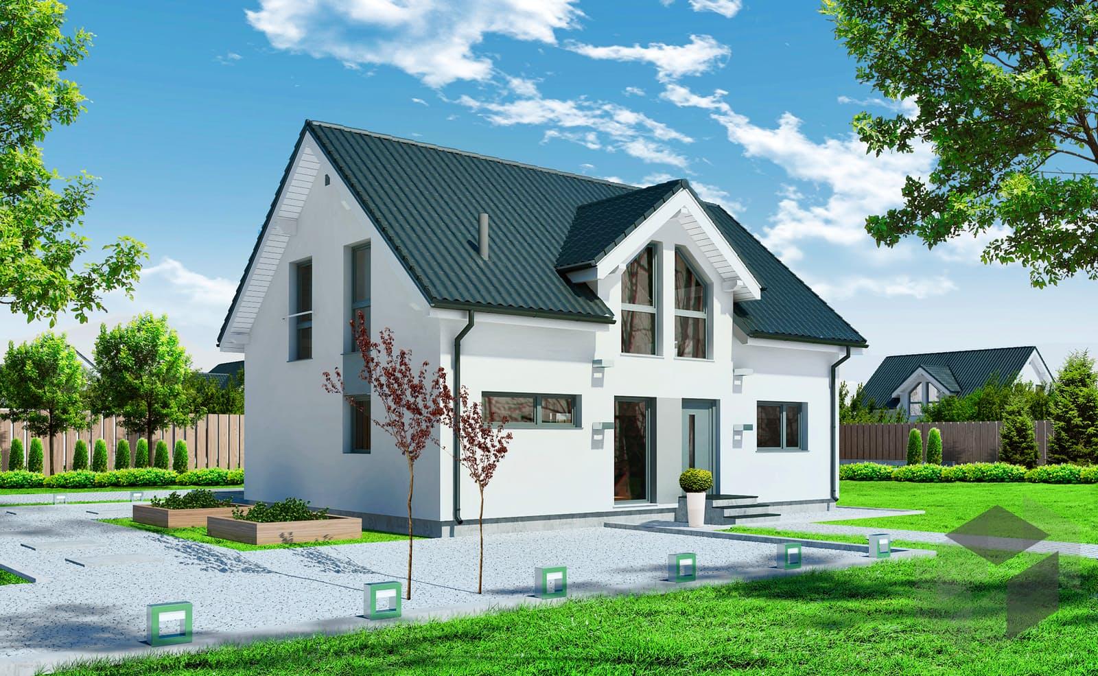 einfamilienhaus point  von  wood house