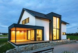 """Rubner Haus Bausystem """"Riegelbau"""" – Zeitlose Flexibilität"""