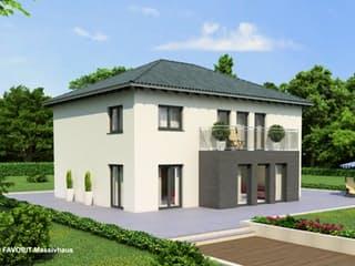 Premium 92/93 von Favorit Massivhaus Außenansicht 1