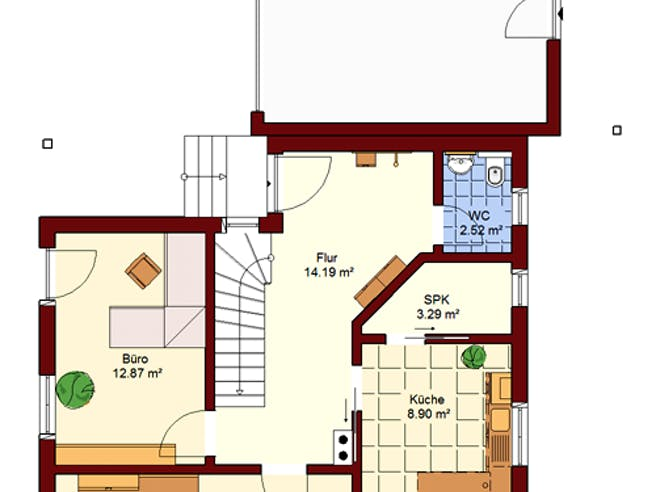 Einfamilienhaus Prenzlau Floorplan 1