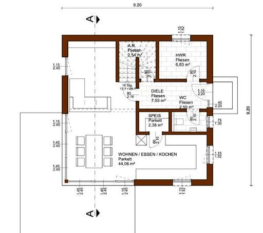 Prestige 129 Floorplan 1