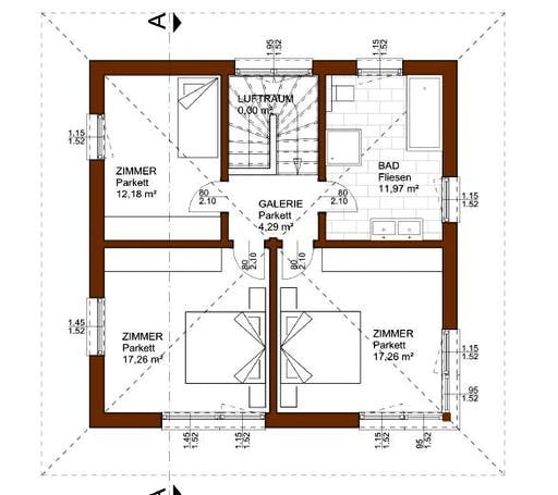 Prestige 129 Floorplan 2