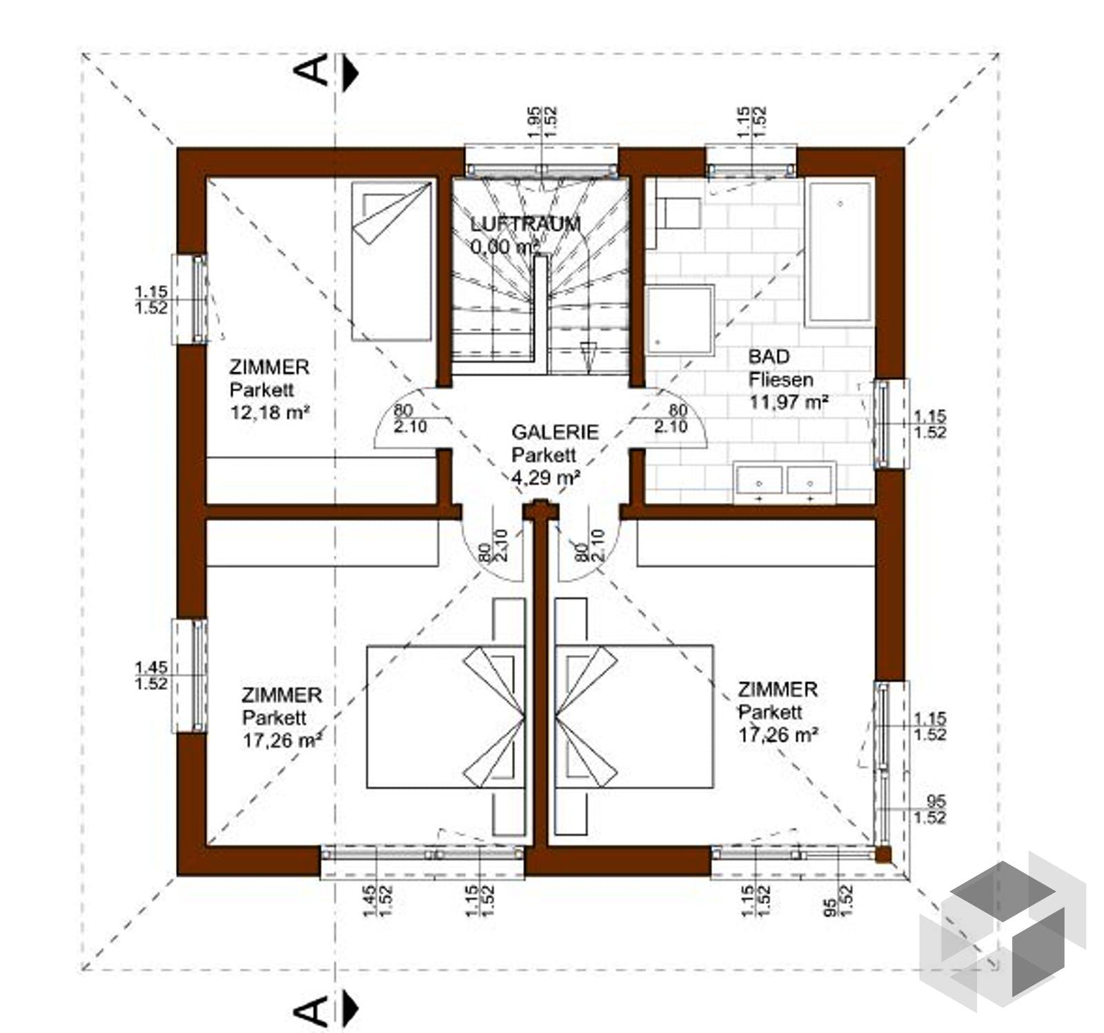 prestige 129 von rubner haus komplette daten bersicht. Black Bedroom Furniture Sets. Home Design Ideas