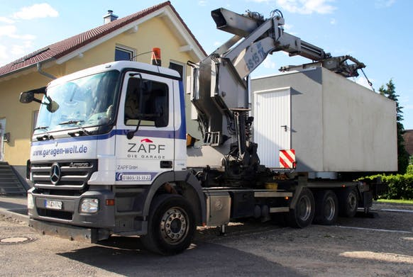 ZAPF GmbH Lieferung