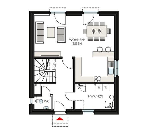 ProFamily 112 - Jahres-Special Floorplan 1