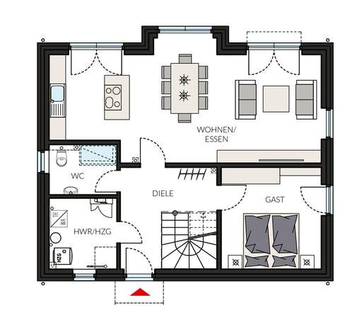 ProFamily 143 - Jahres-Special Floorplan 1