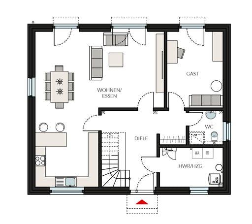 ProFamily 181 - Jahres-Special Floorplan 1
