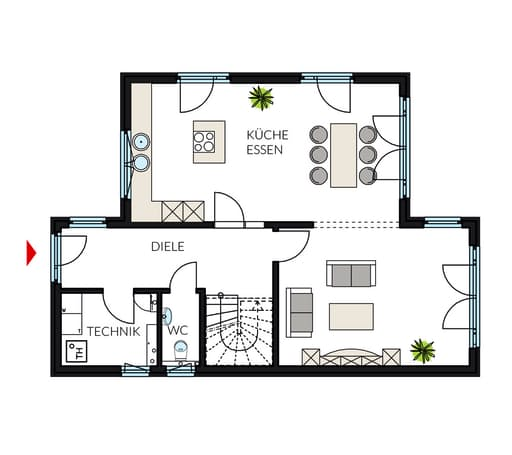ProStyle 145 - Pultdach floor_plans 1