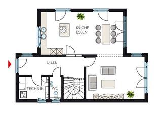 ein pultdach haus bauen preise anbieter h user. Black Bedroom Furniture Sets. Home Design Ideas
