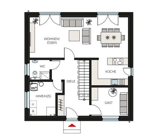 ProStyle145 - Jahres-Special Floorplan 1