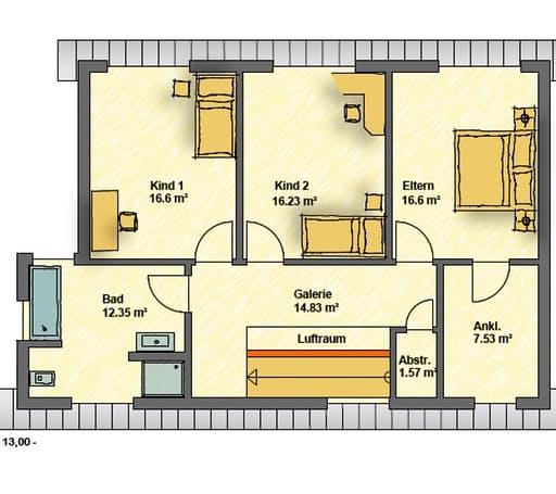 Pultdach floor_plans 0