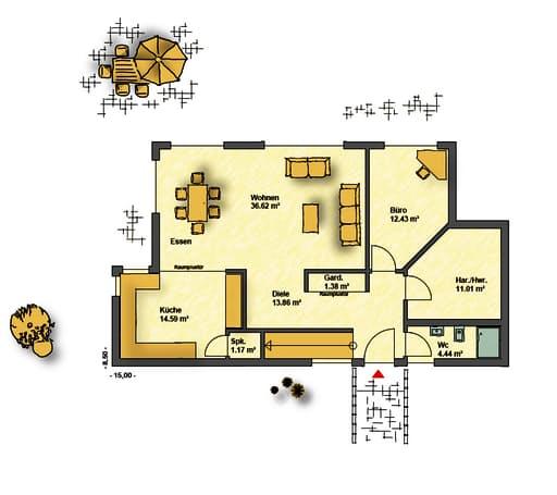 Pultdach floor_plans 1