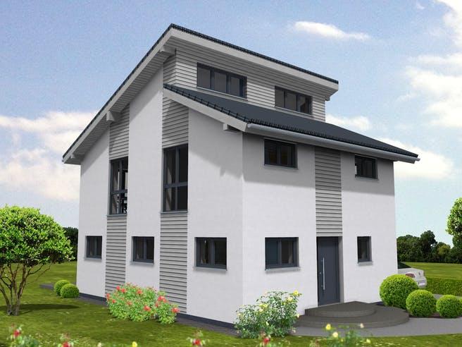 Pulthaus 127 von Suckfüll - Unser Energiesparhaus Außenansicht 1