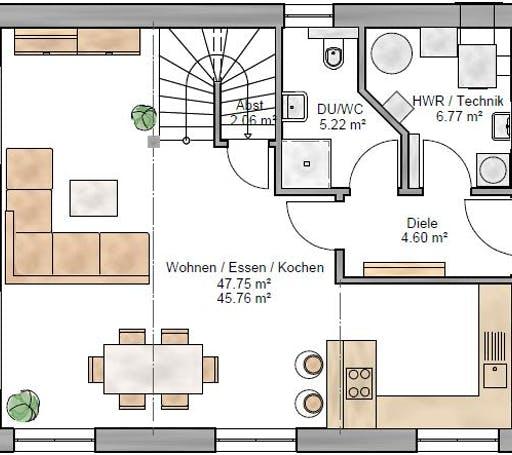 Pulthaus 127 Floorplan 1