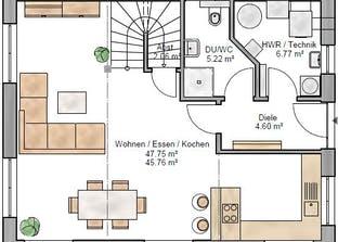 Pulthaus 127 Grundriss