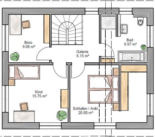 Pulthaus 127 Floorplan 2