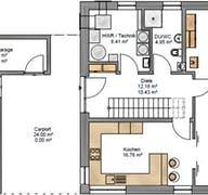 Pulthaus 159 Grundriss