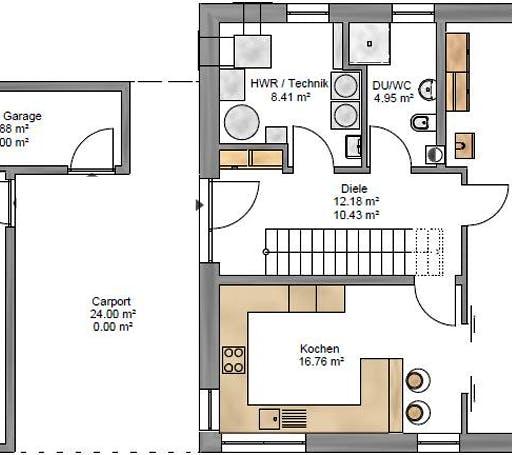 Pulthaus 159 Floorplan 1