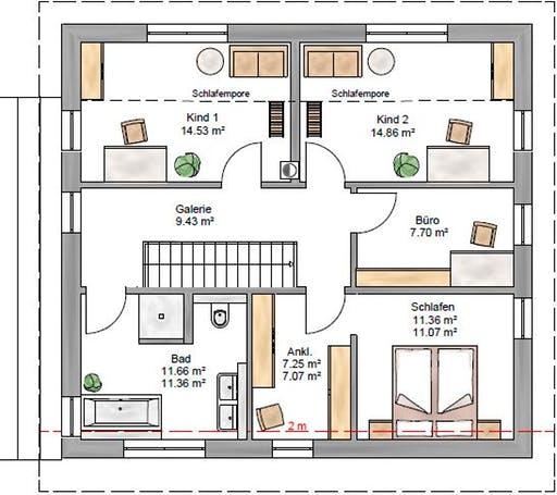 Pulthaus 159 Floorplan 2