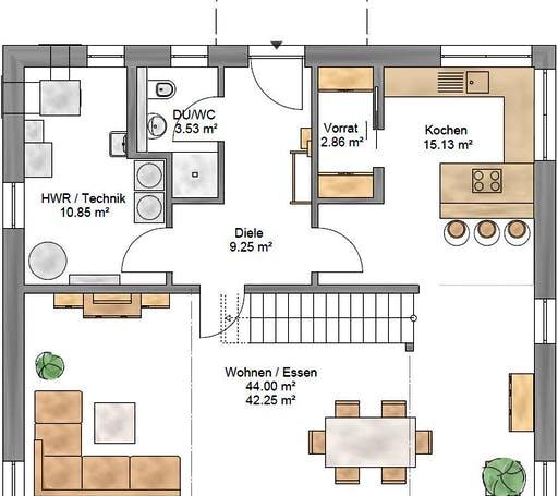 Pulthaus 167 Floorplan 1